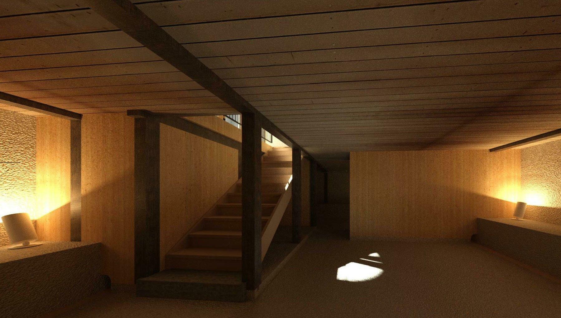 Visualisierung Kellergeschoss