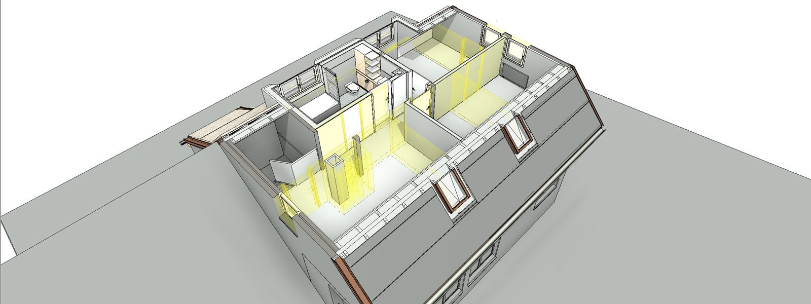 3D-Modelle Hausplanung
