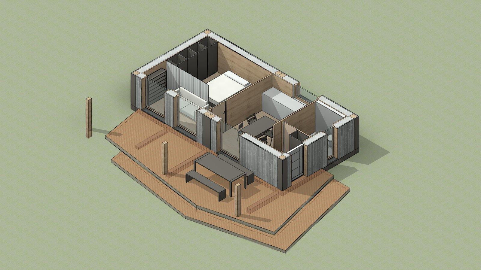 Tiny House Kao-Cabin