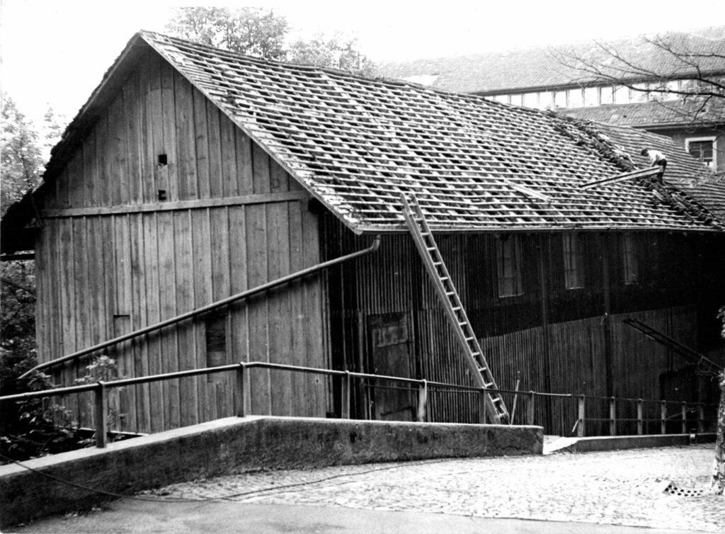Schuhfabrik von oben - Fotografin: Cunégonde Peter