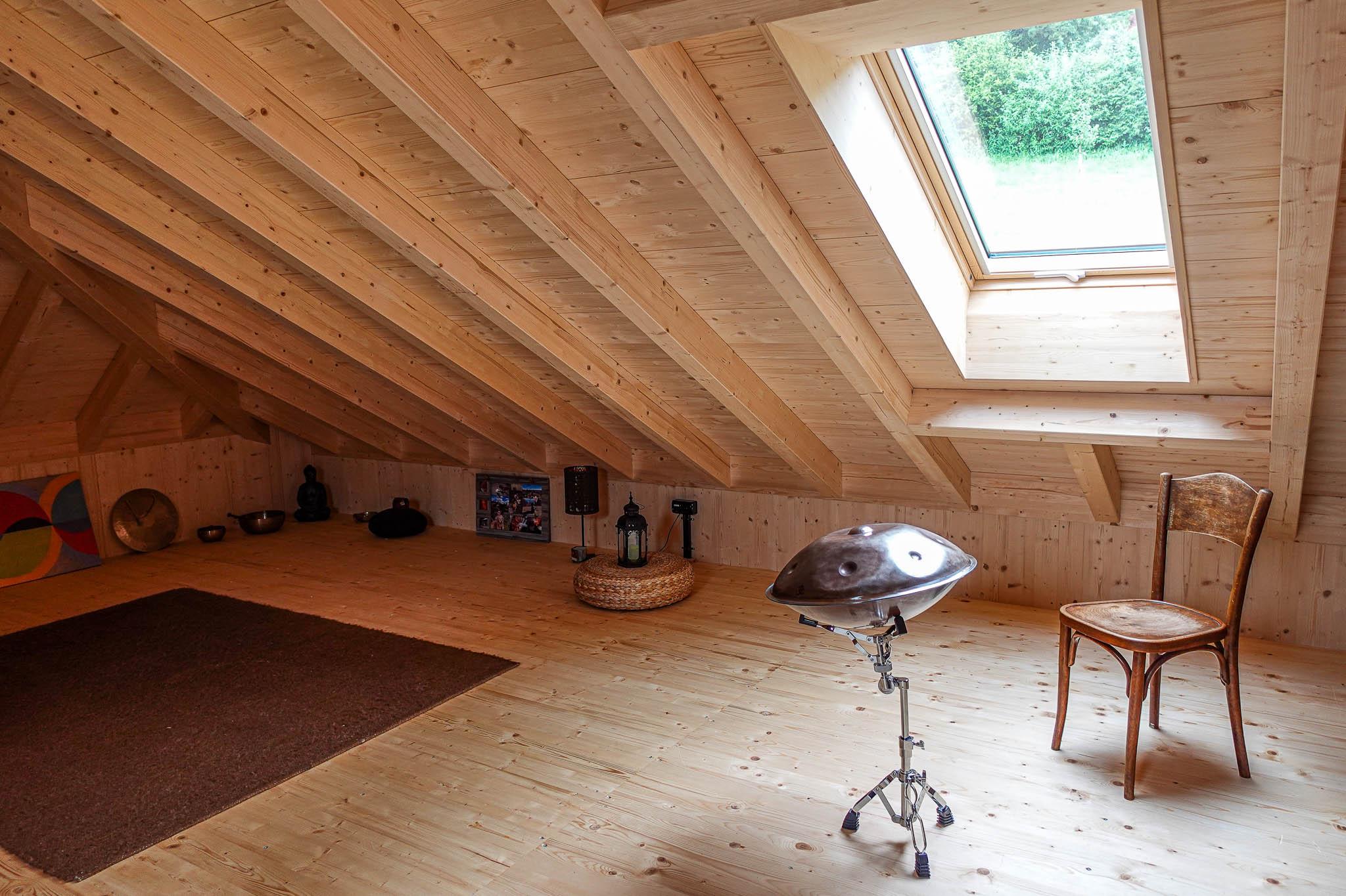 offener Dachraum