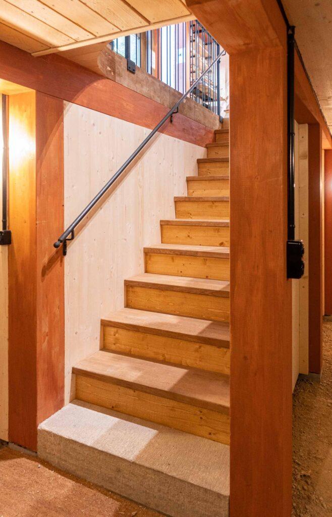Treppe in Keller